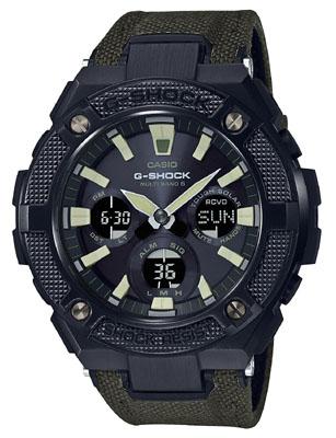 CASIO 腕時計G-SHOCK ジーショックG-STEEL ジースチール電波ソーラーGST-W130BC-1A3JF メンズ