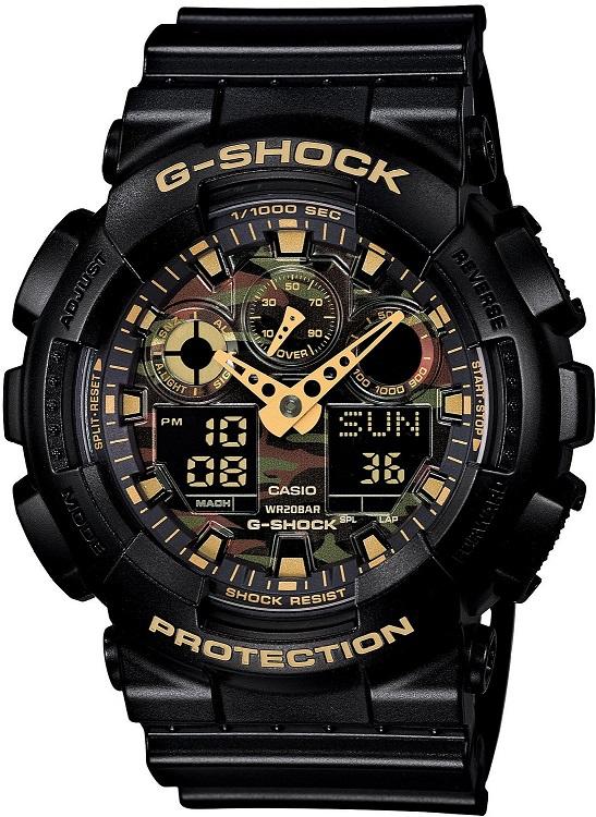 CASIO 腕時計G-SHOCK Camouflage Dial SeriesGA-100CF-1A9JF メンズ