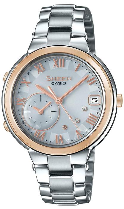 CASIO 腕時計SHEEN シーンタフソーラー  モバイルリンク機能SHB-200ASG-7AJF  レディース