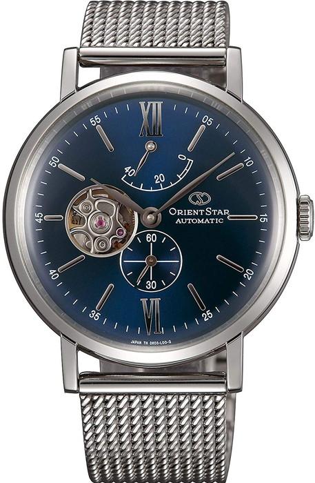 ORIENTSTAR オリエントスター 腕時計 自動巻き(手巻き付)機械式WZ0151DK ブルー メンズ