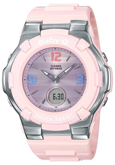 CASIO 腕時計 BABY-G ベビージーRetro Tricolor(レトロ・トリコロール)BGA-1100TR-4BJF  レディース  電波ソーラー