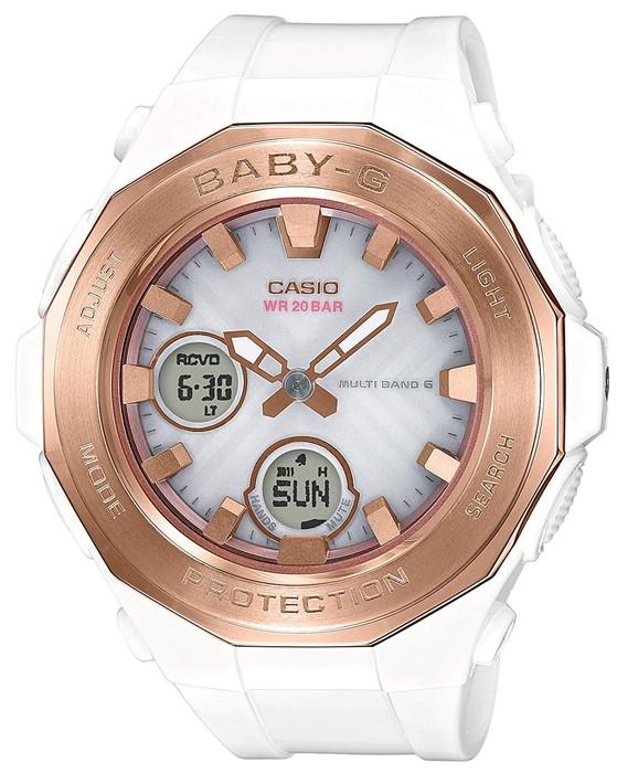 CASIO 腕時計 BABY-G ベビージー ソーラー電波BGA-2250G-7AJF  レディース