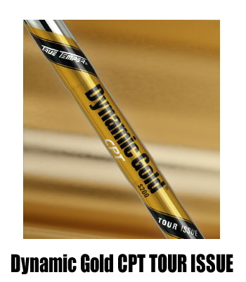 TRUE TEMPER Dynamic Gold CPT TOUR ISSUE 아이언 용 샤프트 5-PW (6 개 SET) 신품!
