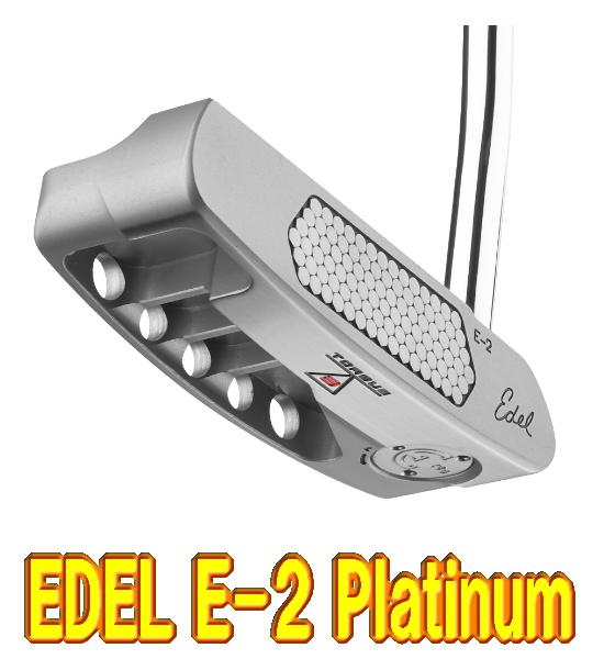 【激レア・送料無料】EDEL GOLF イーデルゴルフ Edel E-2 PLATINUM トルクバランスパター US仕様 新品!