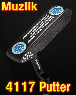 【NEW・送料無料】ムジーク Muziik On The Screw 4117 PUTTER パター 新品!