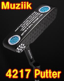 【NEW・送料無料】ムジーク Muziik On The Screw 4217 PUTTER パター 新品!