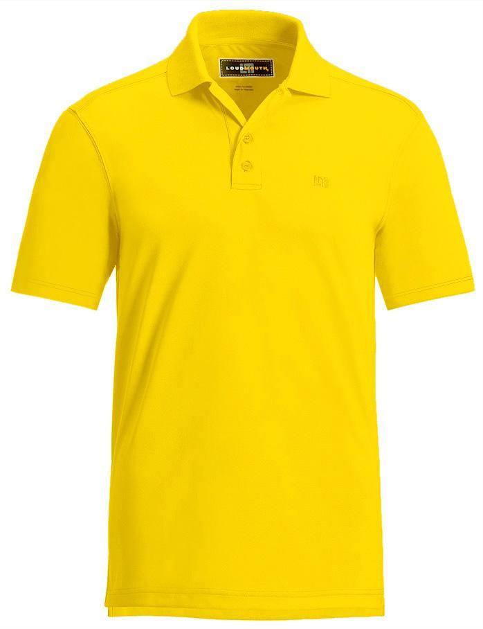 Auc warpgolf rakuten global market loudmouth essential for Yellow golf polo shirts