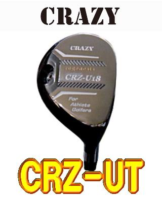 【激安・送料無料】CRAZY regenesis CRZ-UT ユーティリティヘッド 単体 + カスタムシャフト装着可能 新品!