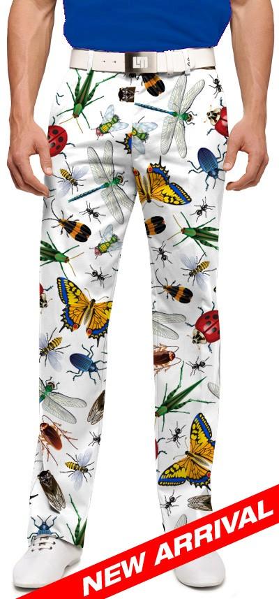 【激レア】LOUDMOUTH ラウドマウスゴルフ Big Bugs ロングパンツ ジョン・デーリー着用 US直輸入!