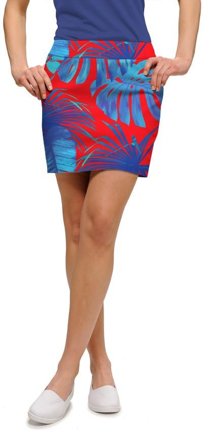 【激レア】LOUDMOUTH ラウドマウスゴルフ Woodworth LAVA FLOW スカート (アンダースコート付) US直輸入!
