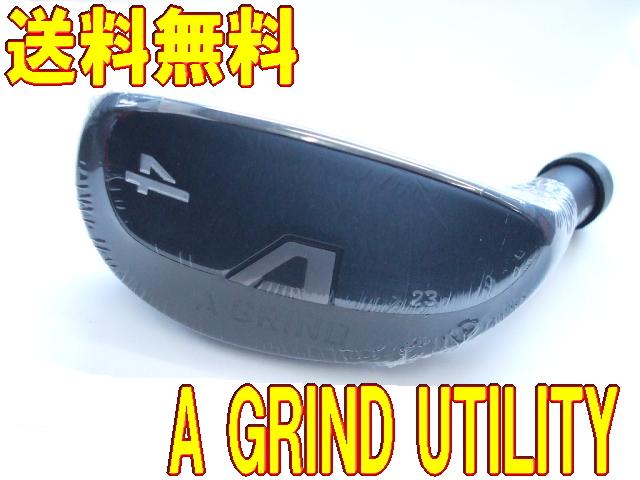 【激レア・送料無料】A GRIND UTILITY 初代ユティリティ へッド単体 + カスタムシャフト装着 新品!