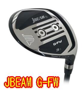 【送料無料・カスタム】J BEAM G-FW フェアウェイウッド ヘッド単体 + シャフト装着可能