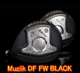 【送料無料・カスタム】Muziik ムジーク On The Screw DF BLACK フェアウェイウッド ヘッド単体 + シャフト装着可能