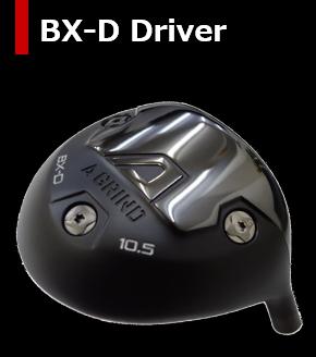 【送料無料・カスタム】A DESGIN GOLF A GRIND BX-D ドライバー ヘッド単体 + カスタムシャフト装着 新品!