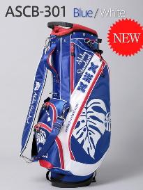 【激レア】アロハスタンダード Aloha Standard ASCB-301 9型スタンドバッグ BLUE/WHITE 新品!