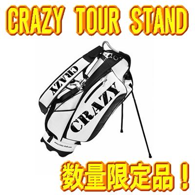 【限定・激レア】CRAZY クレイジー TOUR STAND CADDIEBAG ツアースタンドキャディーバッグ 数量限定 新品!