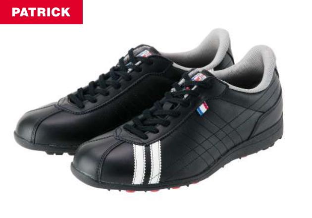 【激レア・即決】PATRICK パトリック ゴルフシューズ SULLY-CP G2231 BLACK 新品!
