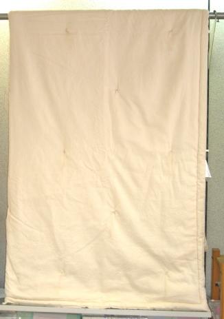 【送料無料】【日本製】真綿掛布団(手引き正絹角真綿)サイズ 150×210cm【送料無料】
