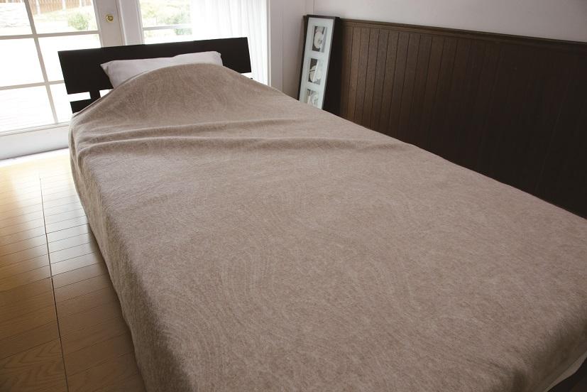 【送料無料】ニッケ厳選 高級カシミヤ毛布シングルサイズ【日本製】カシミヤ毛布100%なめらかな風合いと光沢の美しさ保温性のよさがカシミヤ毛布の特徴ですCashimere Blanket (AT41003)