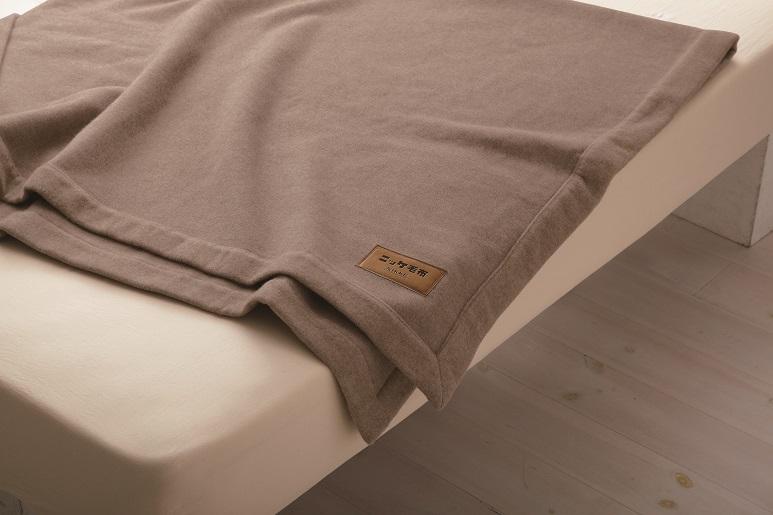 【送料無料】ニッケ厳選 高級カシミヤ毛布シングルサイズ【日本製】カシミヤ毛布100%なめらかな風合いと光沢の美しさ保温性のよさがカシミヤ毛布の特徴ですCashimere Blanket (AT40003)