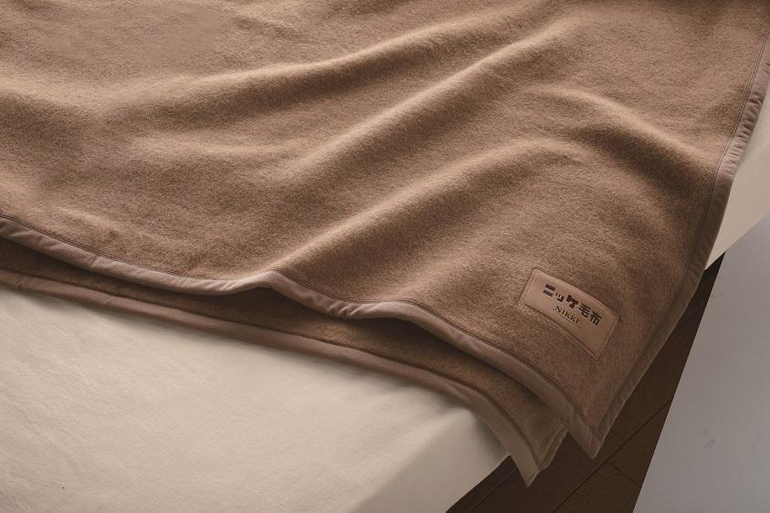 【送料無料】ニッケ厳選 高級キャメル毛布シングルサイズ【日本製】キャメル毛布100%キャメル毛布は上質な光沢と保温性を持ち吸湿性にも優れていますキャメル毛布 Camel Blanket(AT00808)