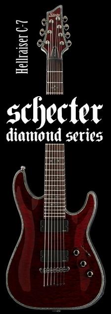 Schecter AD-C-7-HR BCH【送料無料】