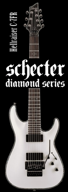 Schecter AD-C-7-FR-HR WH【送料無料】