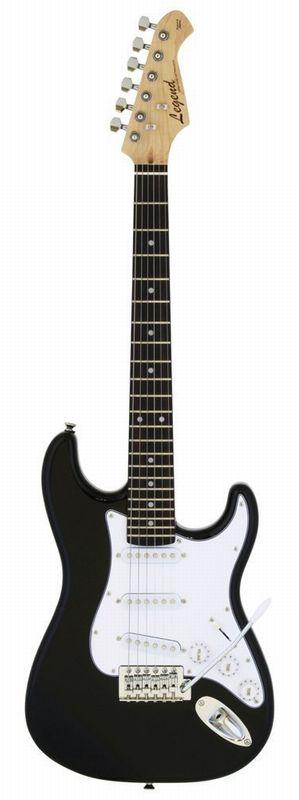 LEGEND EG ミニギター 580mmスケール LST-MINI BK ストラトタイプ【送料無料】【新品】