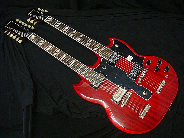 Epiphone エピフォン Limited Edition G-1275 Double Neck Cherry ダブルネック【新品アウトレット】【送料無料】
