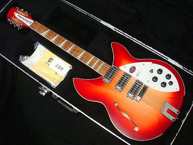 Rickenbacker Model 1993 Plus Fireglo 12-String リッケンバッカー Fホール【新品アウトレット】【送料無料】【12弦ギター】