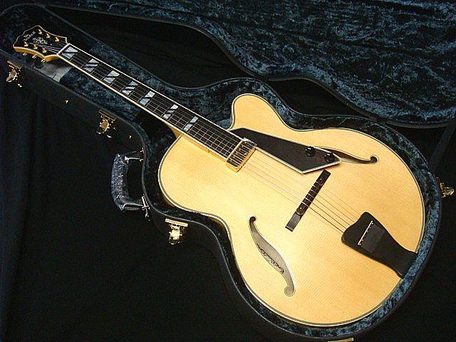 ARIA PRO II FA-2000 N ニューヨーカースタイル フルアコ ナチュラル【日本製】【新品】【送料無料】