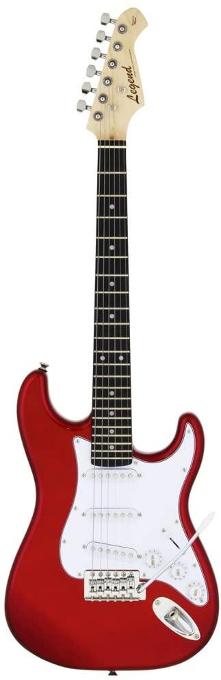 LEGEND EG ミニギター 580mmスケール LST-MINI CA レッド ストラトタイプ【送料無料】【新品】
