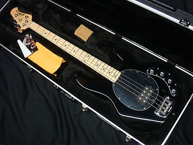 MUSICMAN STINGRAY SR-4 BK/Maple【新品アウトレット】 【送料無料】
