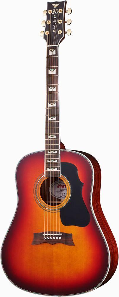 MORRIS MG-705 RBS 50TH アコースティックギター モーリス 50周年記念モデル【新品アウトレット】【送料無料】