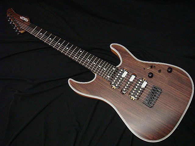 SCHECTER NV-7-24-MH-FXD/RNT/E ローズウッドトップ7弦ギター 【7弦ギター】【限定生産モデル】【送料無料】【新品アウトレット】