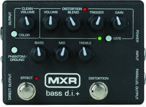 MXR M80 BASS D.I.+ ベース用プリアンプ/ディストーション【新品】【送料無料】