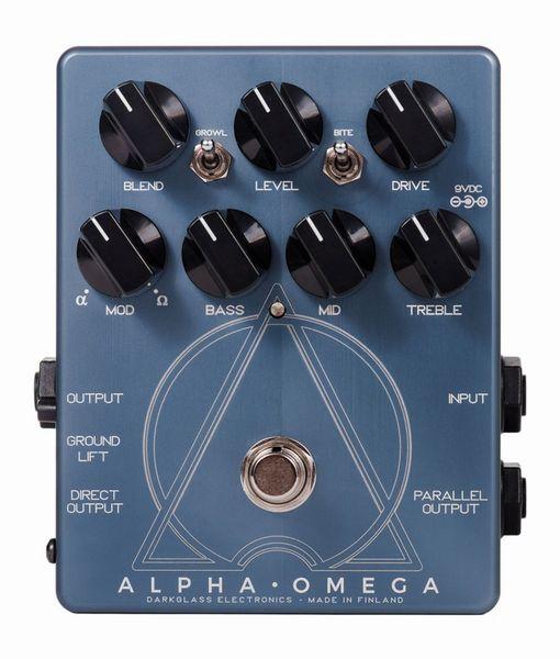 Darkglass Electronics Alpha Omega ベース用オーバードライブ/プリアンプ ダークグラスエレクトロニクス【送料無料】【新品】