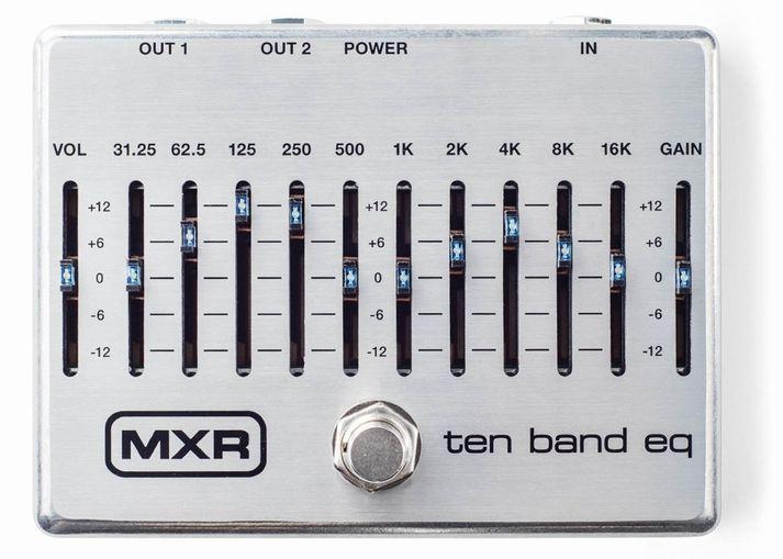 MXR M108S 10 Band Graphic EQ グラフィックイコライザー【新品】【送料無料】【純正ACアダプタ付属】
