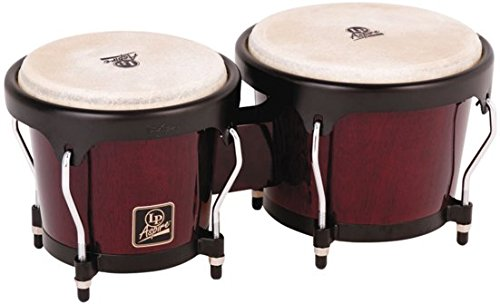 LP エルピー ボンゴ Aspire Wood Bongos Black Hardware LPA601-DW ダークウッド【送料無料】【新品アウトレット】