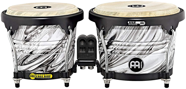 MEINL Percussion マイネル ボンゴ Marathon Designer Series Wood Bongo FWB190 WHM ホワイトマーブル【新品】【送料無料】