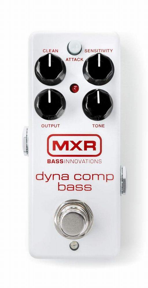 MXR M282 Dyna Comp Bass ダイナコンプ ベース ミニペダル ミニサイズ【新品】【送料無料】【純正ACアダプタ付属】