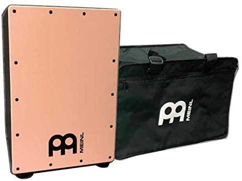 数量限定 MEINL Percussion マイネル カホン MCAJ100BK-FP+ メイプル打面 純正ギグバッグ付き フラミンゴピンク 売り込み 専門店 送料無料 限定カラー