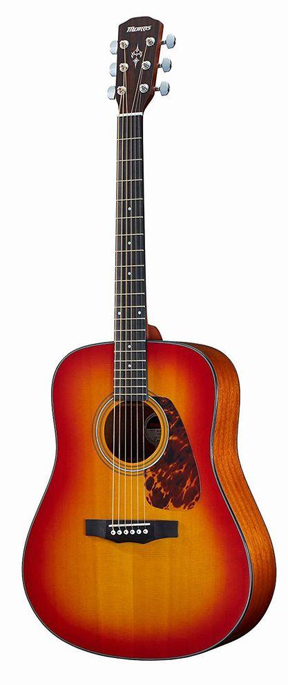 Morris M-351 CS チェリーサンバースト モーリス ドレッドノートサイズ アコースティックギター【新品アウトレット】【送料無料】
