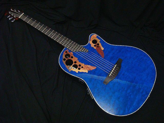 Ovation Celebrity Elite Plus CE44P-8TQ Transparent Blue Quilt Maple オベーション エレアコ【新品】【送料無料】