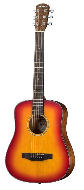 Morris LA-011 CS チェリーサンバースト モーリス コンパクトサイズ アコースティックギター ミニギター【新品】【送料無料】