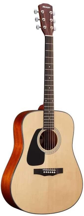 Morris M-350 LH NAT レフティ 左利き用 モーリス ドレッドノートサイズ アコースティックギター【新品】【送料無料】