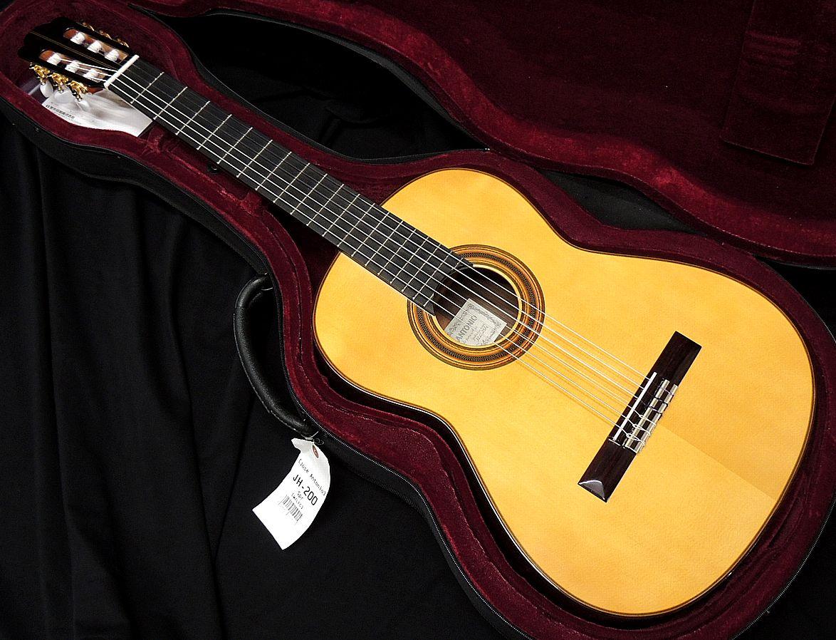 JOSE ANTONIO JH-200 総単板 スプルーストップ ホセ 新品アウトレット スーパーセール 未使用品 送料無料 ハウザースタイル アントニオ クラシックギター