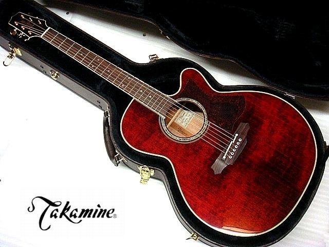 【コンタクトPU増設済】Takamine タカミネ DMP551C WR ワインレッド エレアコ【祝!ランキング入賞】【新品】【送料無料】