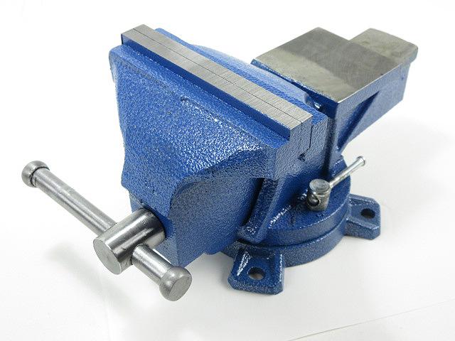 新品 回転式 リードバイス 大型 口幅 150mm 9.5kg バイス 360度回転 万力 ◆ DIY パイプ 金属加工 工具 卓上型 回転万力 整備 工作 作業台