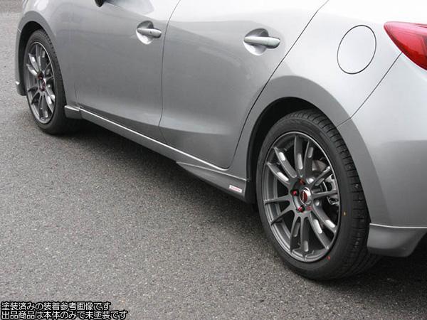 オートエクゼ サイドストレーキセット [アクセラスポーツ BM2FS/BMEFS 前期] AutoExe パーツ 新品
